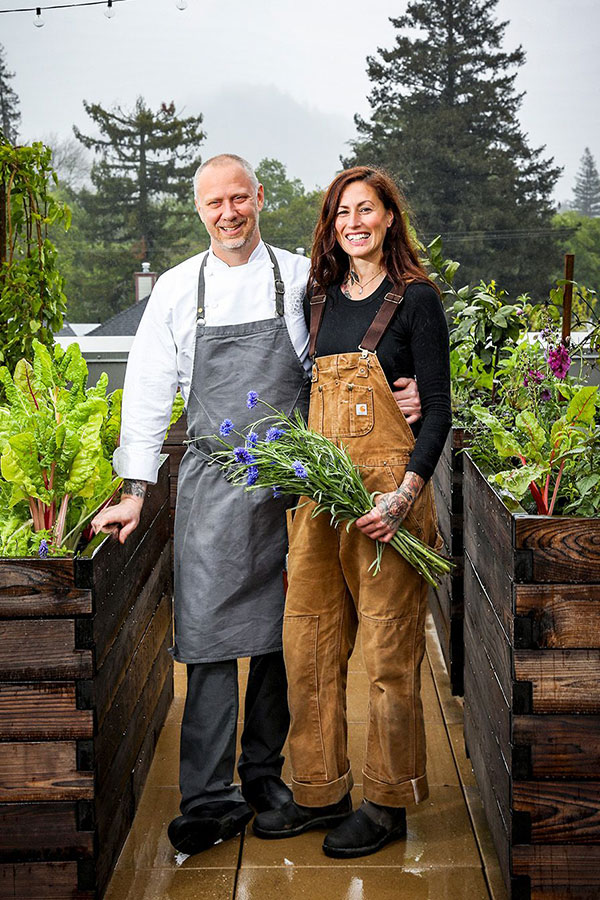 Kyle and Katina Connaughton, Proprietors of SingleThread Farms